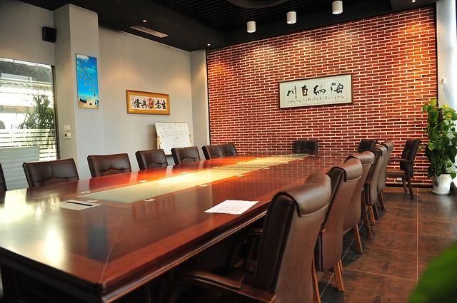 firemní zasedací místnost