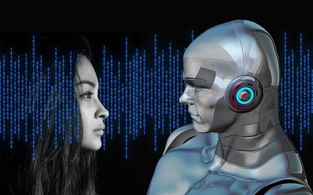 člověk a robot