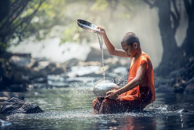 čínský mnich