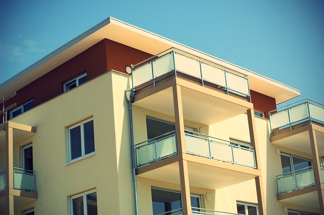 Apartmán, balkóny